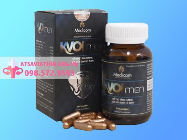 Kvoimen giúp cải thiện chất lượng tinh trùng